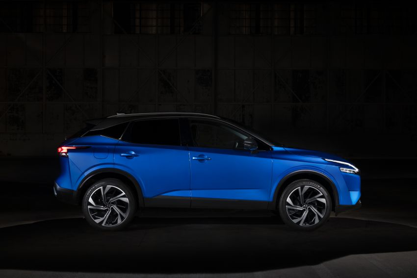 2021 Nissan Qashqai revealed – sharp new looks, tech from X-Trail, new 1.3L mild hybrid, e-Power available Image #1250759