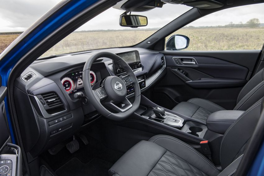 2021 Nissan Qashqai revealed – sharp new looks, tech from X-Trail, new 1.3L mild hybrid, e-Power available Image #1250812