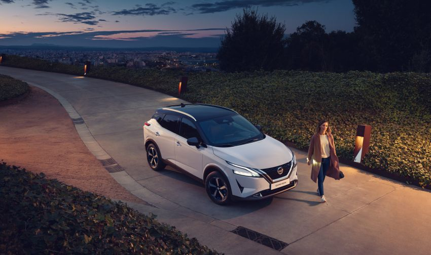 2021 Nissan Qashqai revealed – sharp new looks, tech from X-Trail, new 1.3L mild hybrid, e-Power available Image #1250856