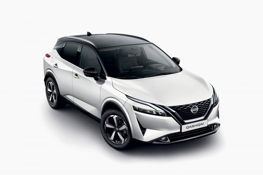 2021 Nissan Qashqai revealed – sharp new looks, tech from X-Trail, new 1.3L mild hybrid, e-Power available Image #1250857