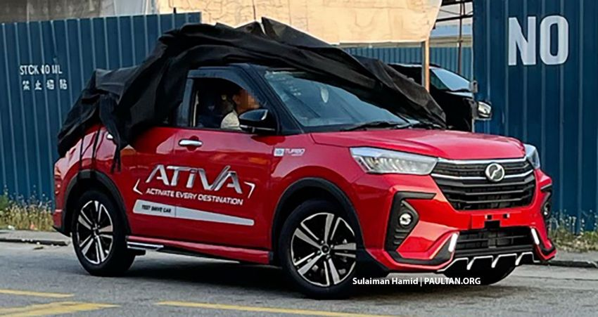 SPYSHOTS: Perodua Ativa sighted with GearUp kit Image #1255552