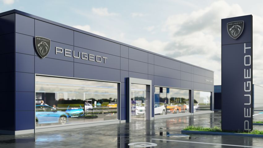 Peugeot unveils new brand identity, logo; 80% of all vehicles sold to be electrified by end of this year Image #1254422