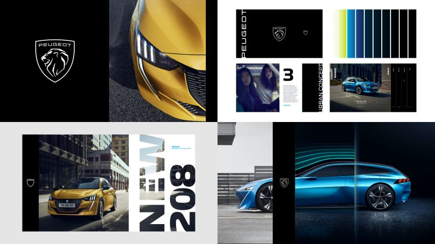 Peugeot unveils new brand identity, logo; 80% of all vehicles sold to be electrified by end of this year Image #1254427