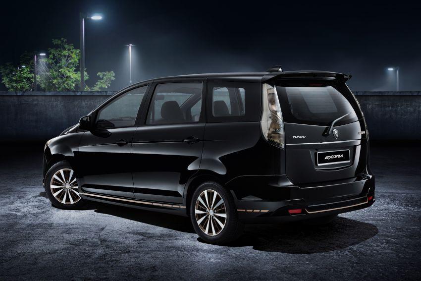 Proton Exora Black Edition tiba di pasaran – RM67,800 Image #1250632