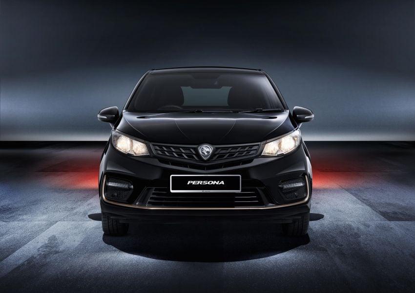 Proton Persona Black Edition dilancarkan – RM54,700 Image #1250642