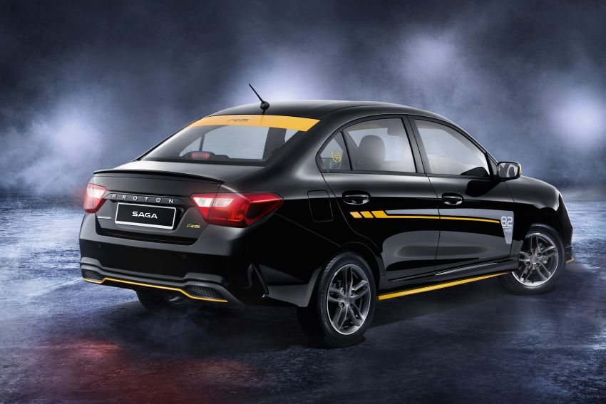 Proton Saga R3 Limited Edition 2021 dilancarkan — edisi terhad 2,000 unit, RM42,300 hingga 30 Jun 2021 Image #1250590