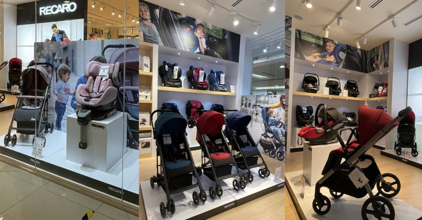AD: Shop for the best child seat and baby gears at the new Recaro Kids Malaysia physical store in One Utama Image #1244600