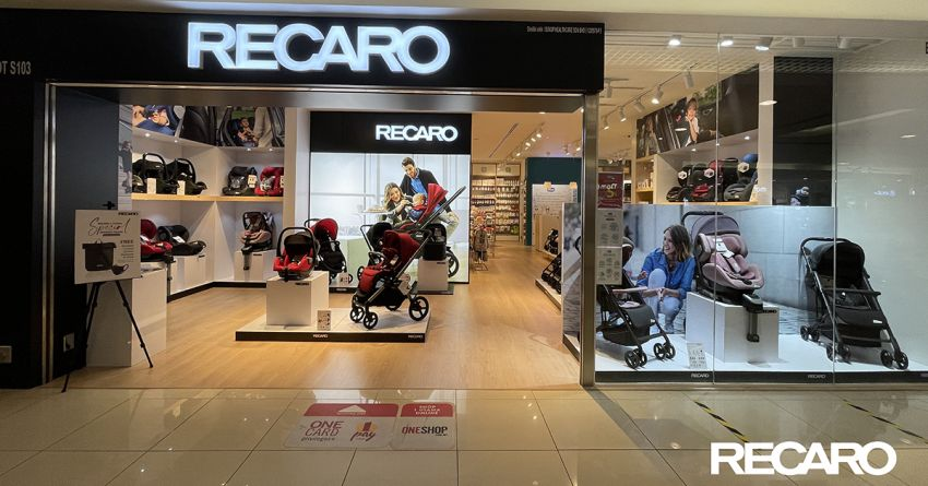 AD: Shop for the best child seat and baby gears at the new Recaro Kids Malaysia physical store in One Utama Image #1244602