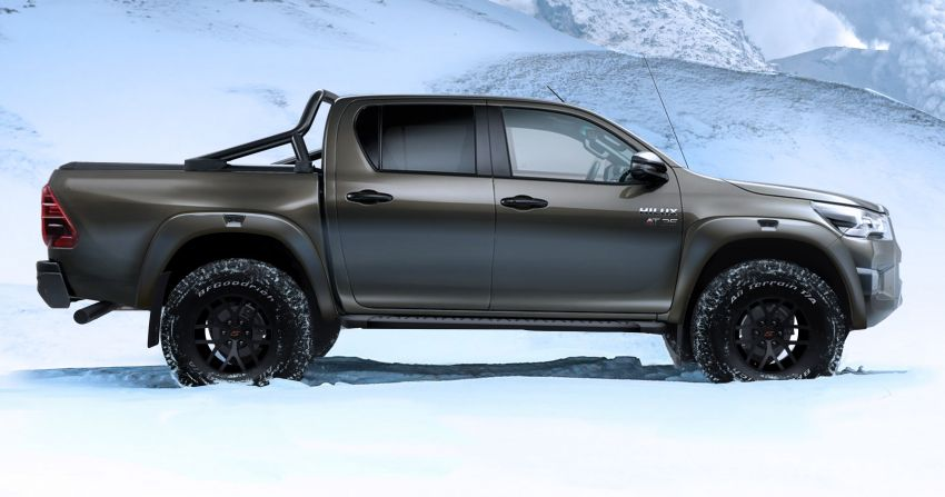 2021 Toyota Hilux AT35 debuts – custom conversion by Arctic Trucks for extreme off-roading, from RM105k Image #1245338