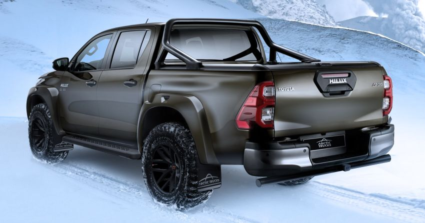 2021 Toyota Hilux AT35 debuts – custom conversion by Arctic Trucks for extreme off-roading, from RM105k Image #1245339