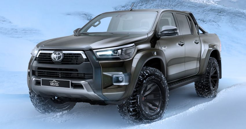2021 Toyota Hilux AT35 debuts – custom conversion by Arctic Trucks for extreme off-roading, from RM105k Image #1245340