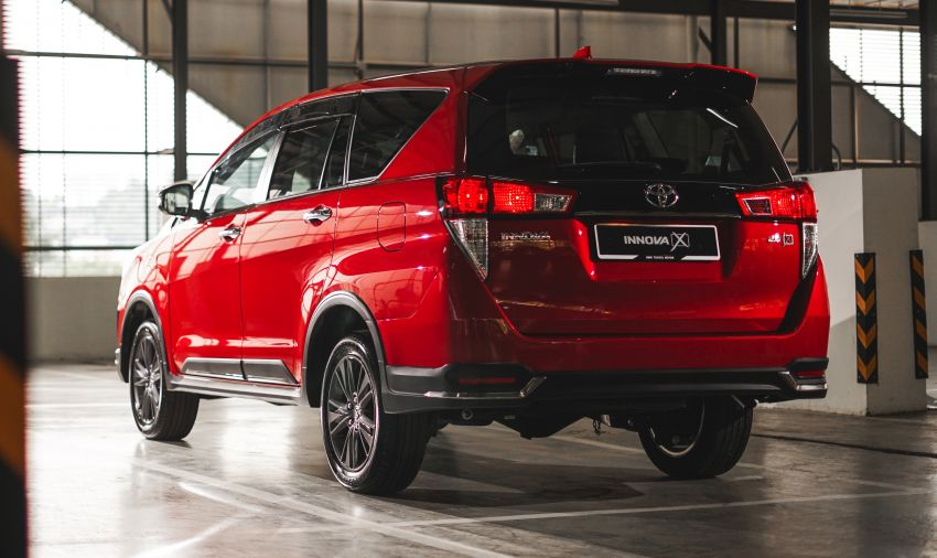 2021 Toyota Innova facelift launched in Malaysia – 2.0E, 2.0G and 2.0X, priced from RM112k to RM130k Image #1243032