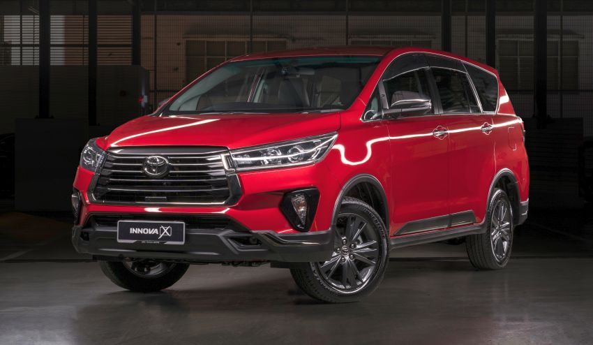 2021 Toyota Innova facelift launched in Malaysia – 2.0E, 2.0G and 2.0X, priced from RM112k to RM130k Image #1243055