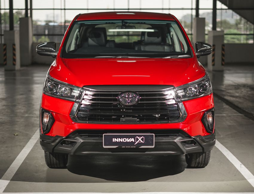 2021 Toyota Innova facelift launched in Malaysia – 2.0E, 2.0G and 2.0X, priced from RM112k to RM130k Image #1243067