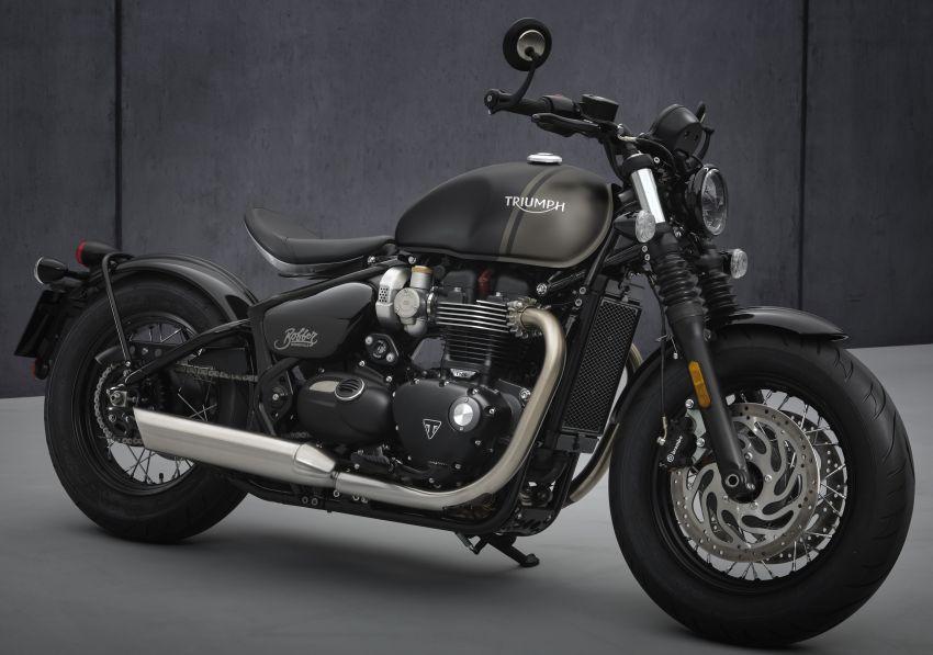 2021 Triumph Bonneville range gets model updates Image #1253207