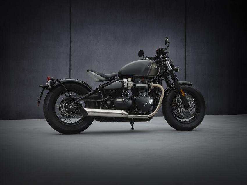 2021 Triumph Bonneville range gets model updates Image #1253208