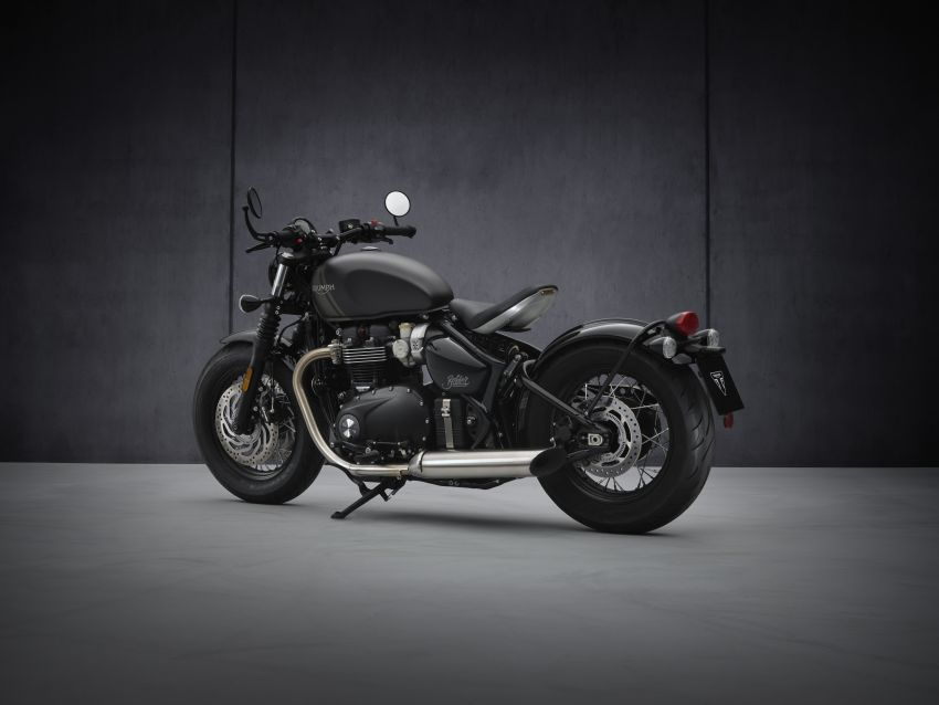 2021 Triumph Bonneville range gets model updates Image #1253209