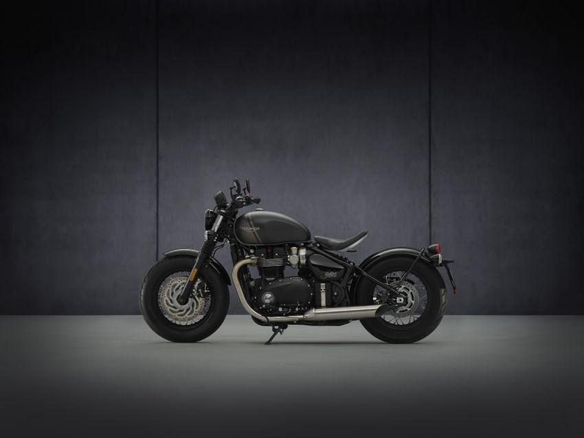 2021 Triumph Bonneville range gets model updates Image #1253211