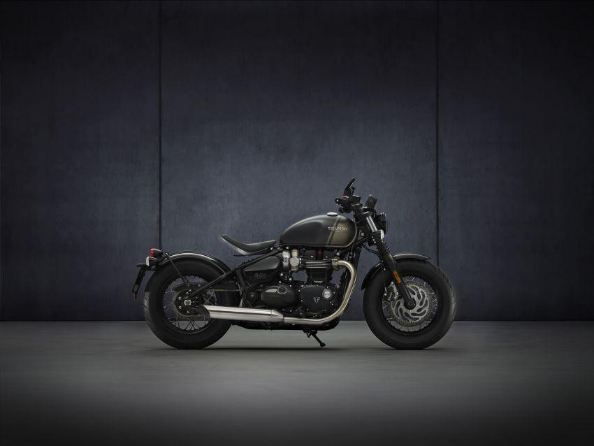2021 Triumph Bonneville range gets model updates Image #1253213