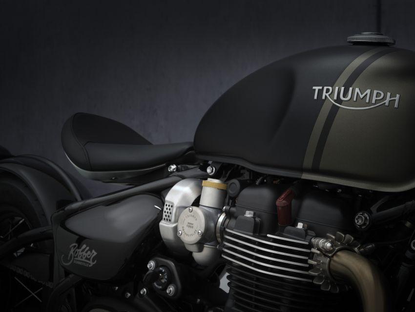2021 Triumph Bonneville range gets model updates Image #1253230
