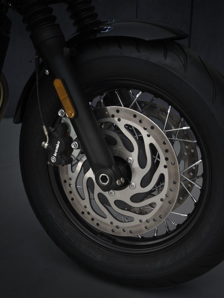 2021 Triumph Bonneville range gets model updates Image #1253231