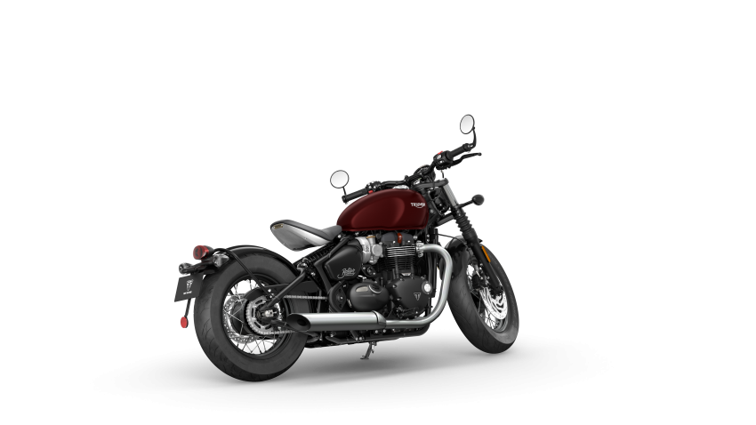 2021 Triumph Bonneville range gets model updates Image #1253214