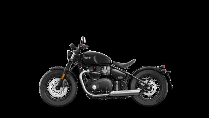 2021 Triumph Bonneville range gets model updates Image #1253226