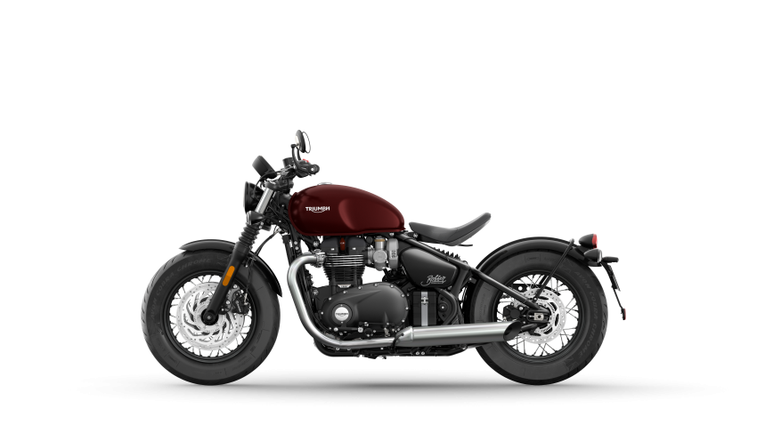 2021 Triumph Bonneville range gets model updates Image #1253218