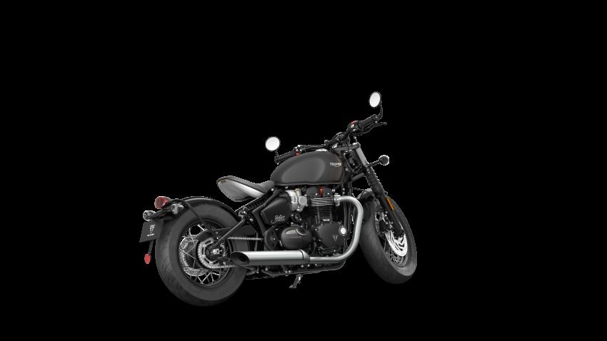 2021 Triumph Bonneville range gets model updates Image #1253220