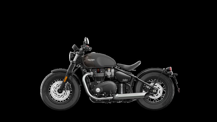 2021 Triumph Bonneville range gets model updates Image #1253222