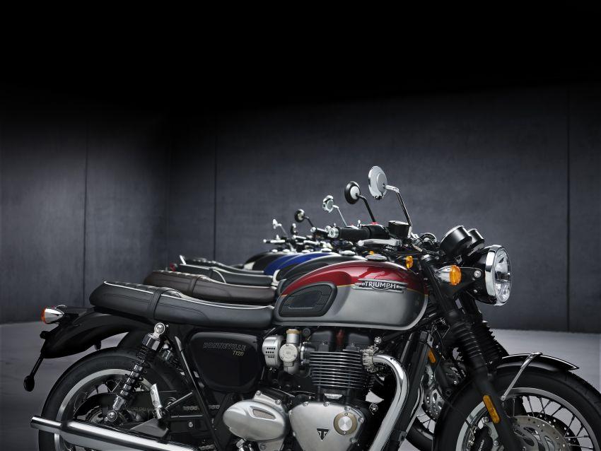 2021 Triumph Bonneville range gets model updates Image #1253234