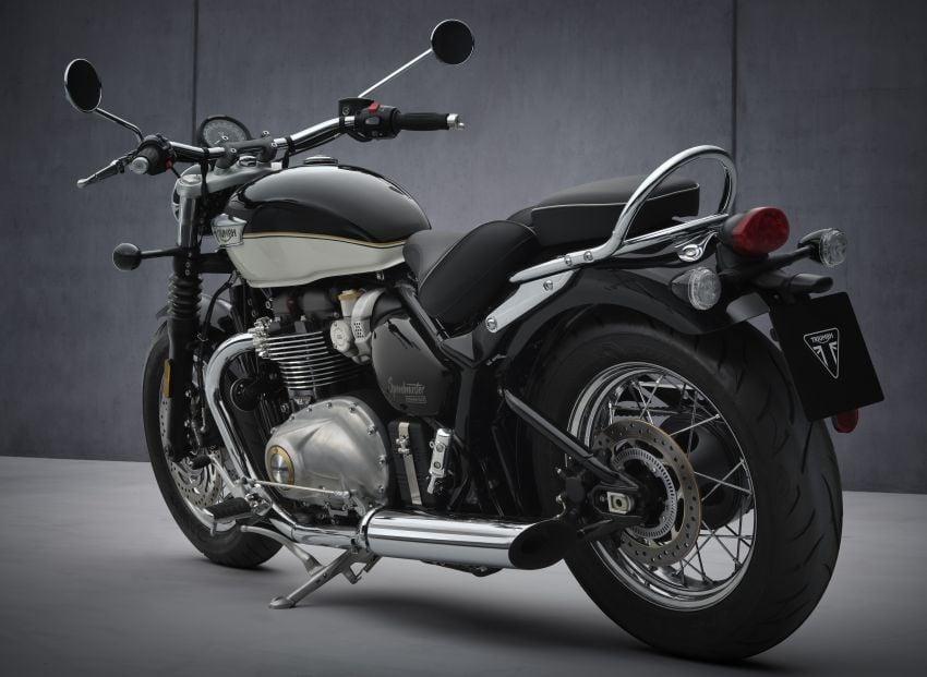 2021 Triumph Bonneville range gets model updates Image #1253178