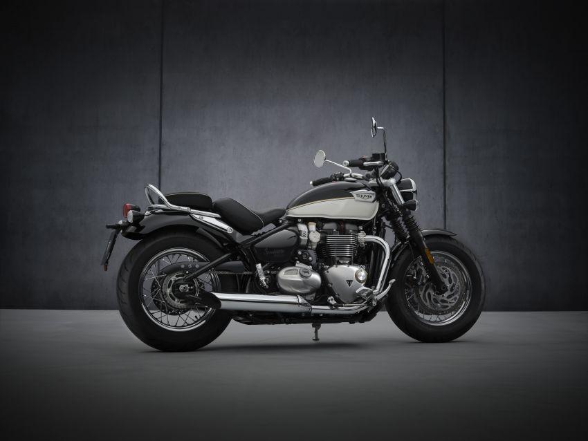 2021 Triumph Bonneville range gets model updates Image #1253179