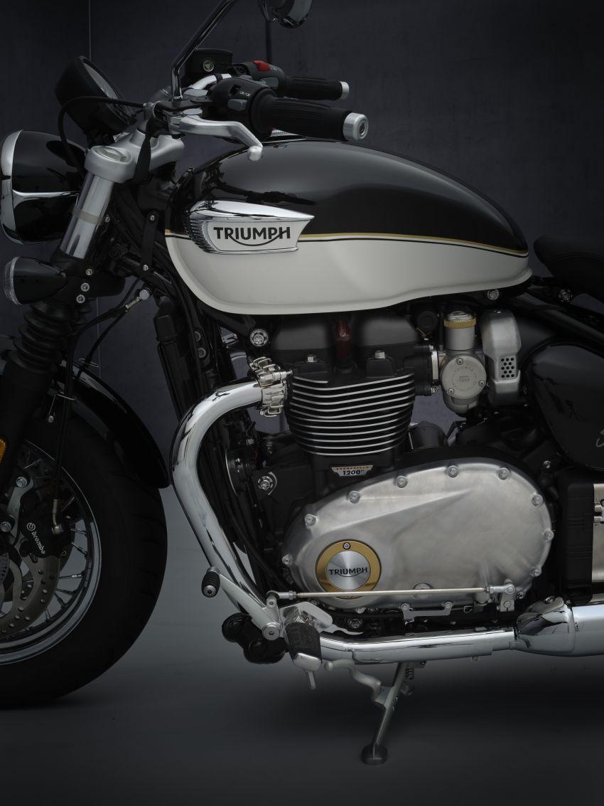 2021 Triumph Bonneville range gets model updates Image #1253199