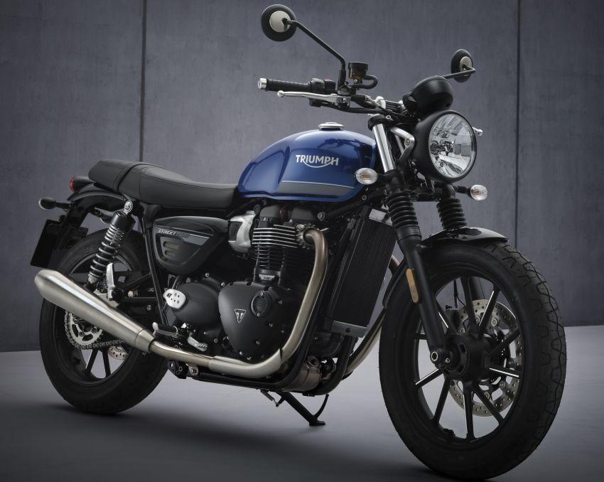 2021 Triumph Bonneville range gets model updates Image #1253132
