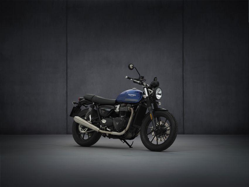 2021 Triumph Bonneville range gets model updates Image #1253133