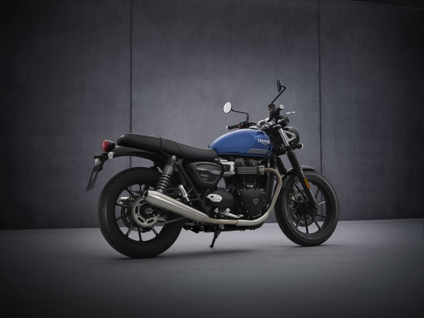 2021 Triumph Bonneville range gets model updates Image #1253135
