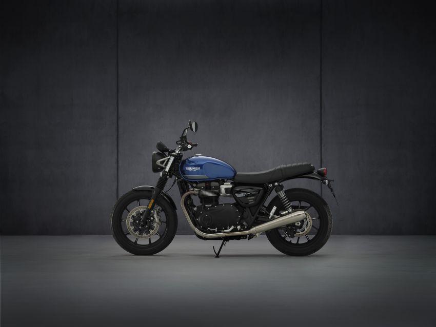 2021 Triumph Bonneville range gets model updates Image #1253136
