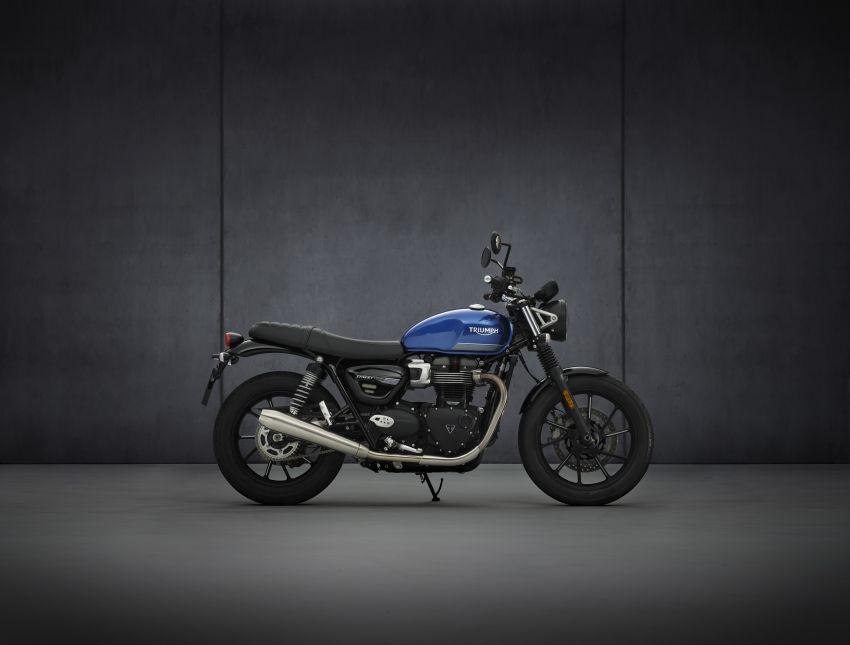 2021 Triumph Bonneville range gets model updates Image #1253137