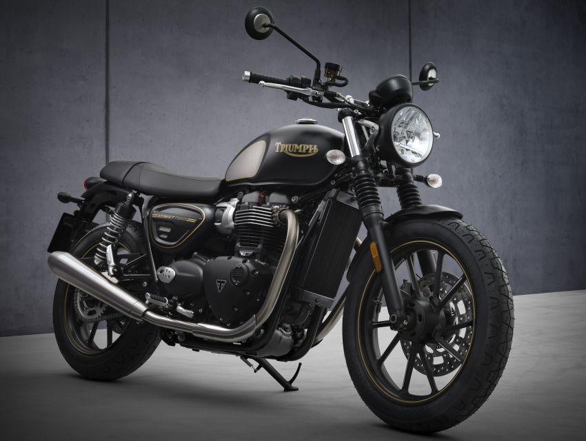 2021 Triumph Bonneville range gets model updates Image #1253154