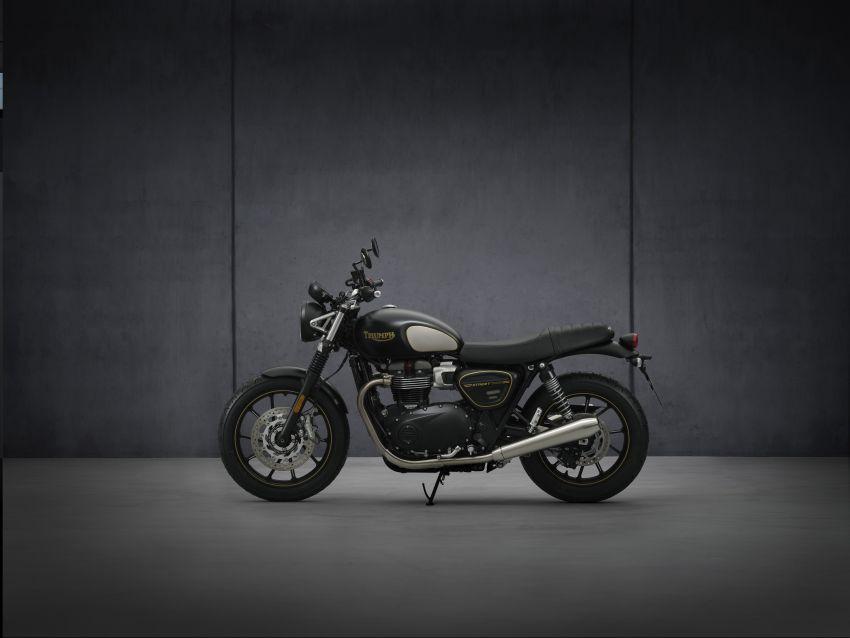 2021 Triumph Bonneville range gets model updates Image #1253157