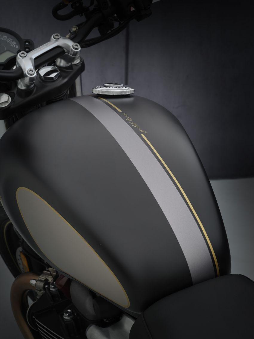 2021 Triumph Bonneville range gets model updates Image #1253168