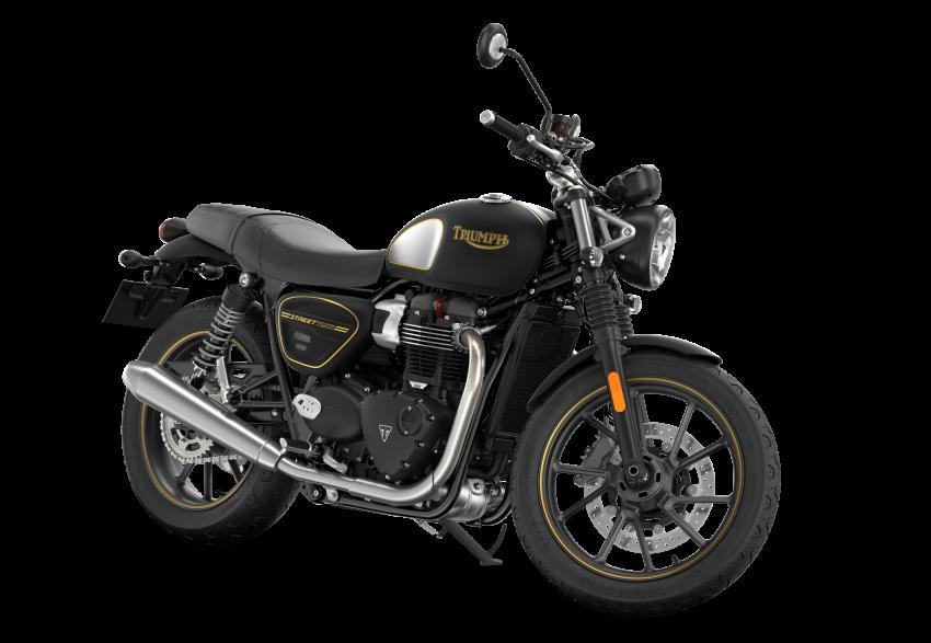 2021 Triumph Bonneville range gets model updates Image #1253160