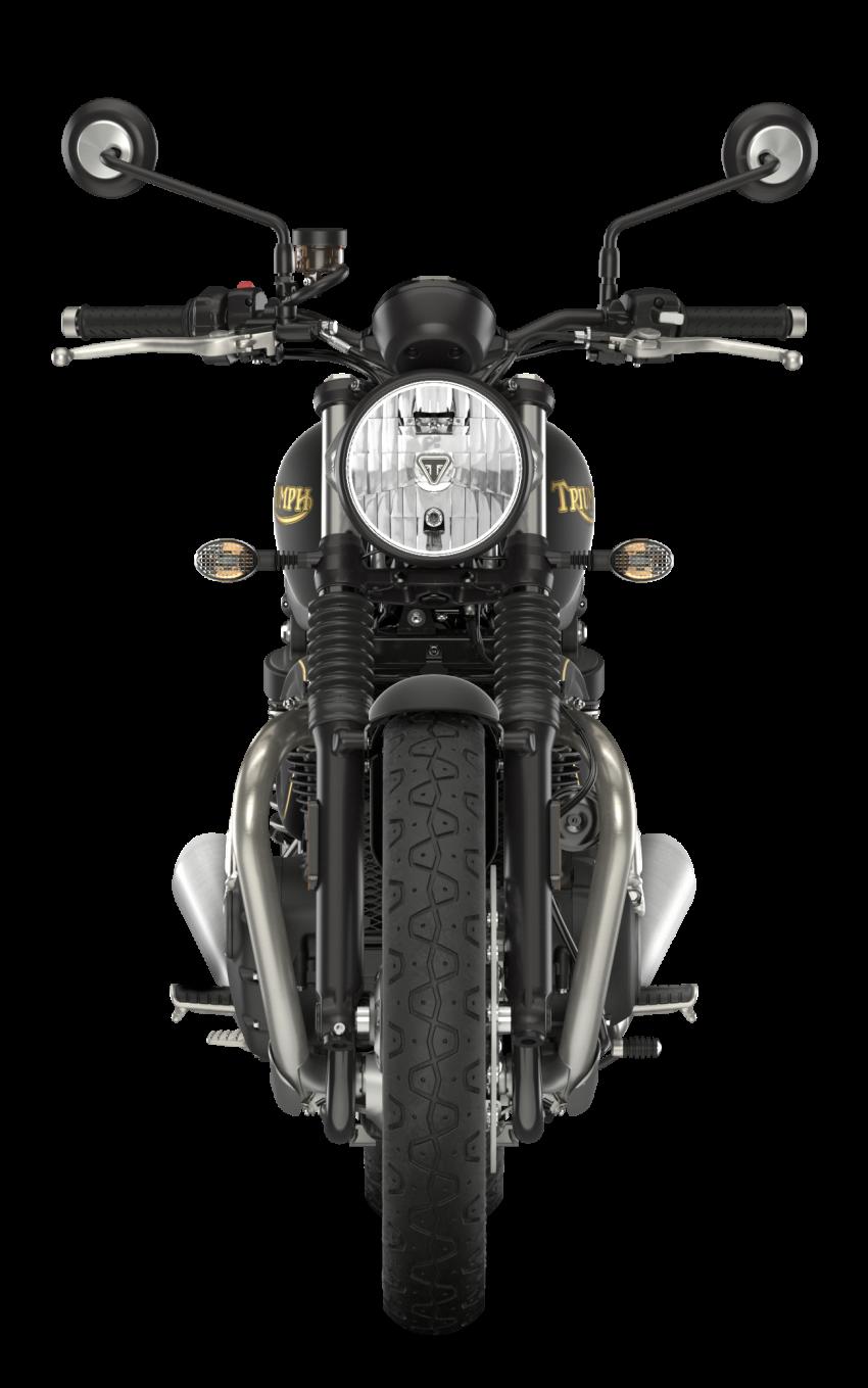 2021 Triumph Bonneville range gets model updates Image #1253162
