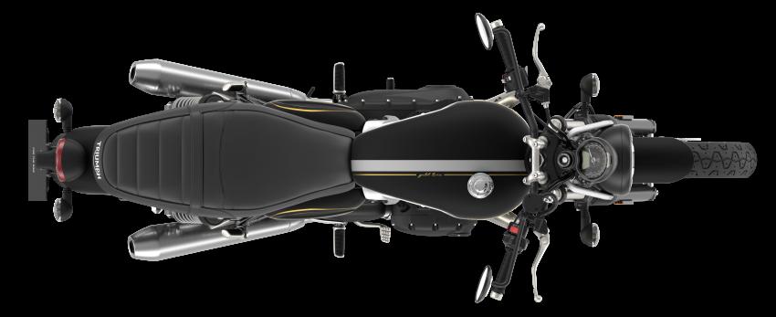 2021 Triumph Bonneville range gets model updates Image #1253165