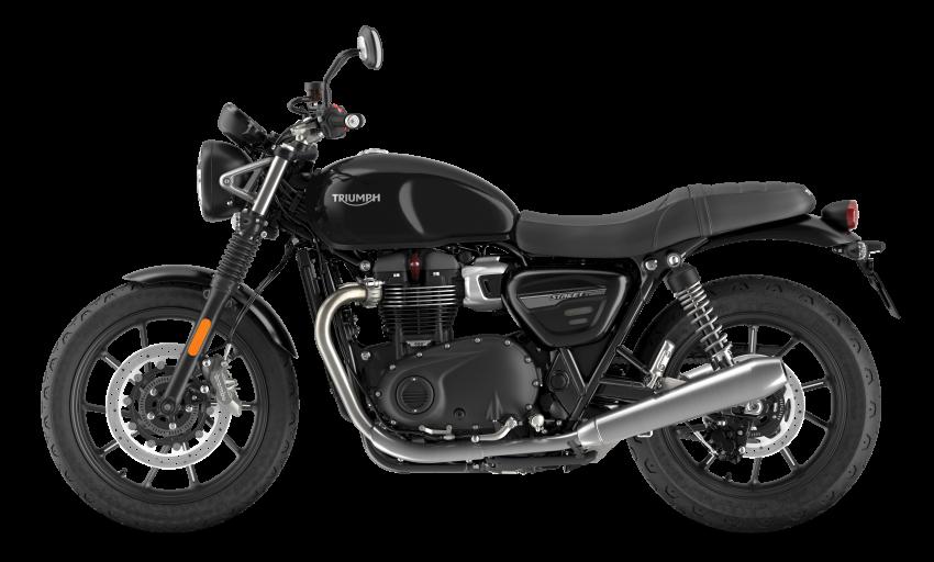2021 Triumph Bonneville range gets model updates Image #1253150