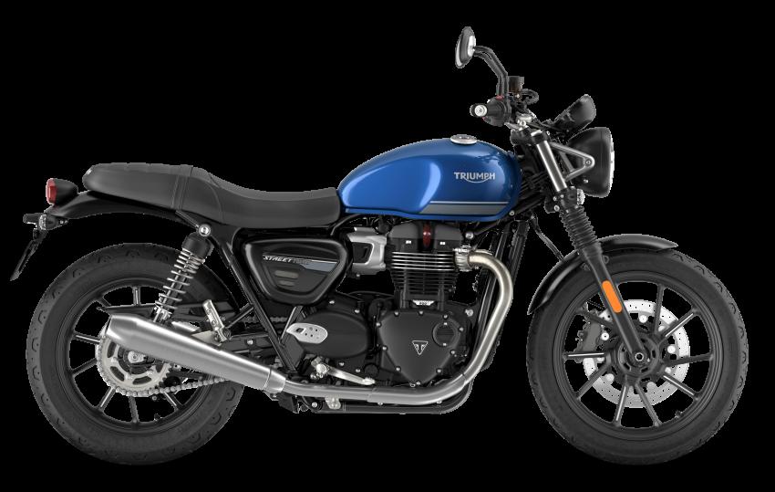 2021 Triumph Bonneville range gets model updates Image #1253143