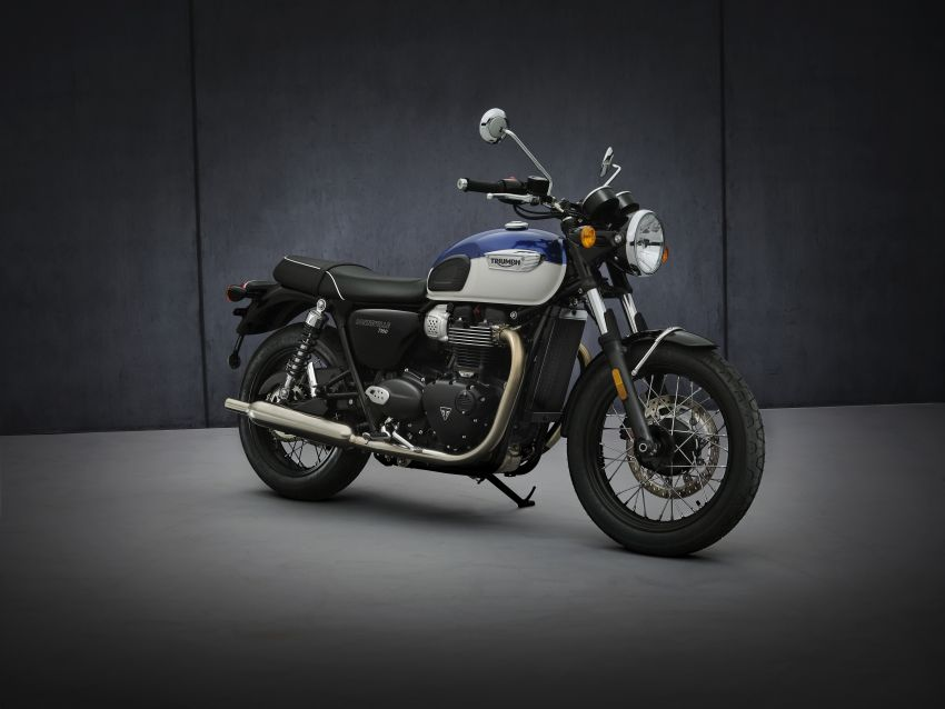 2021 Triumph Bonneville range gets model updates Image #1253096