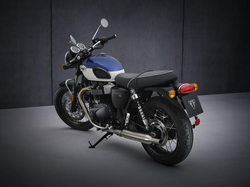 2021 Triumph Bonneville range gets model updates Image #1253099