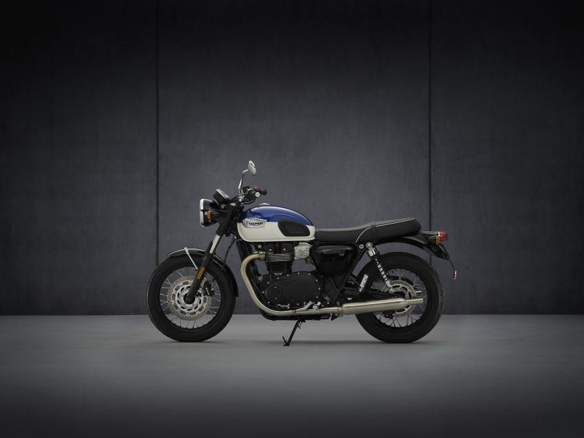 2021 Triumph Bonneville range gets model updates Image #1253100